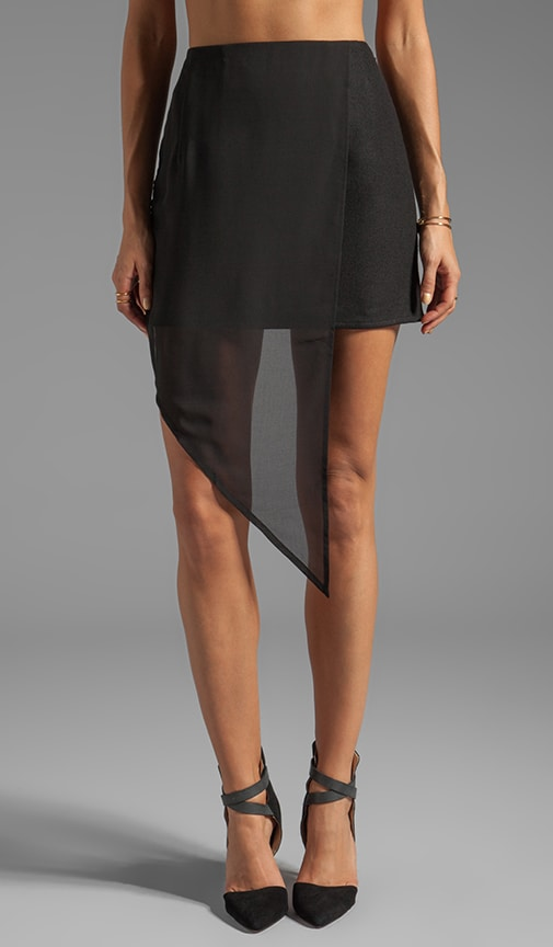 Evita Asymmetrical Skirt