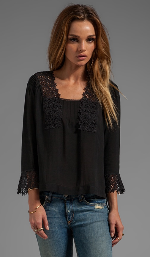 Goldie Lace Top