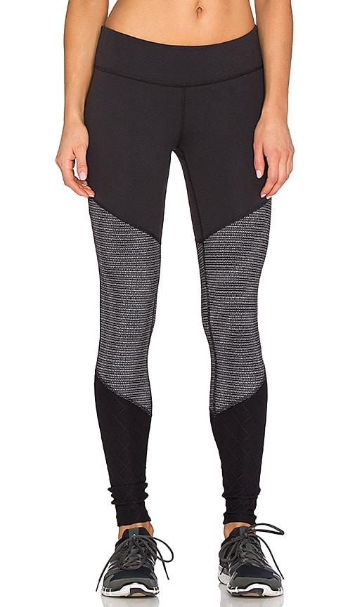 Static Stripe Tri-Panel Legging