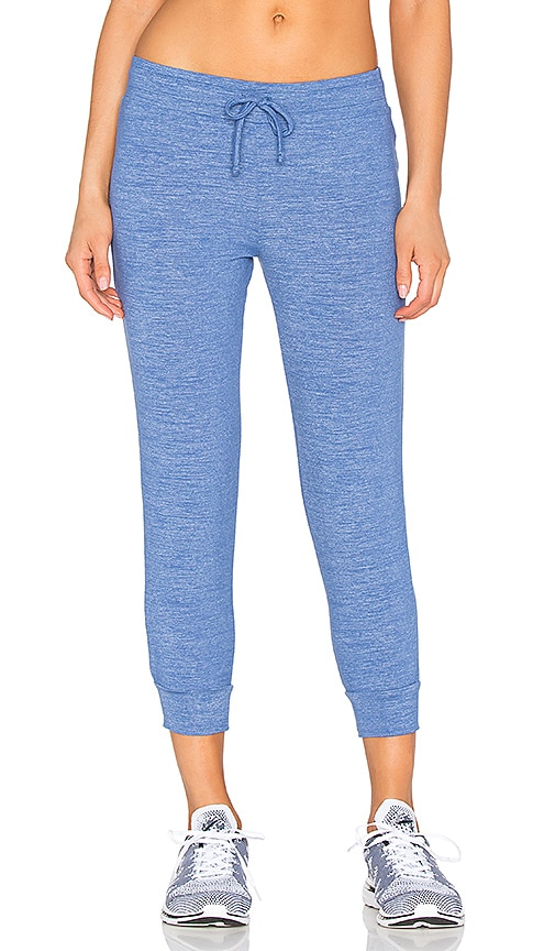 Beyond Yoga Cloud Heather Relaxed Sweatpant in Blue