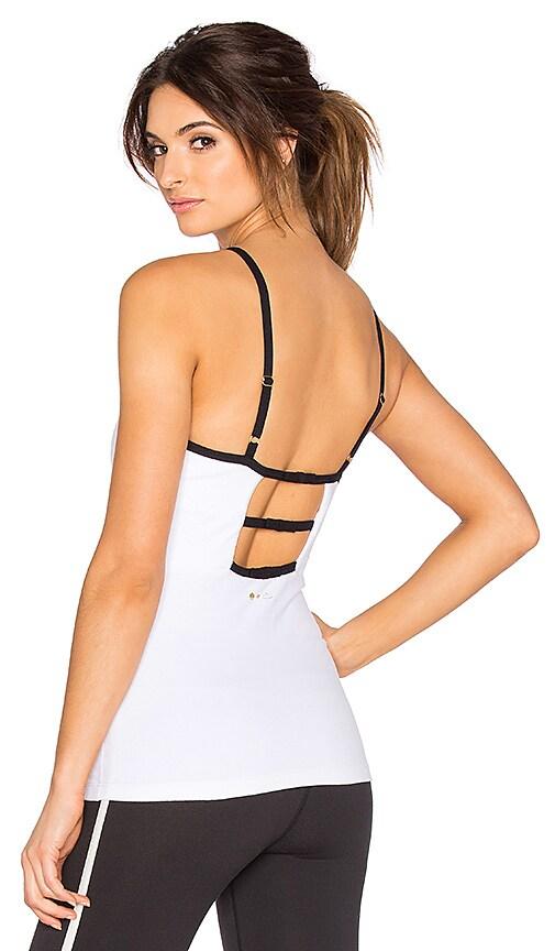 Beyond Yoga x Kate Spade Triple Bow Cami in White