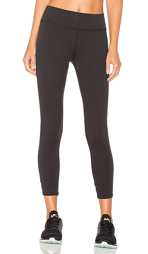 Beyond Yoga x Kate Spade Cinched Bow Capri in Black