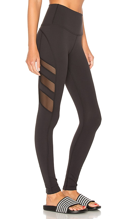 Beyond Yoga Triple Mesh High Waist Legging in Black