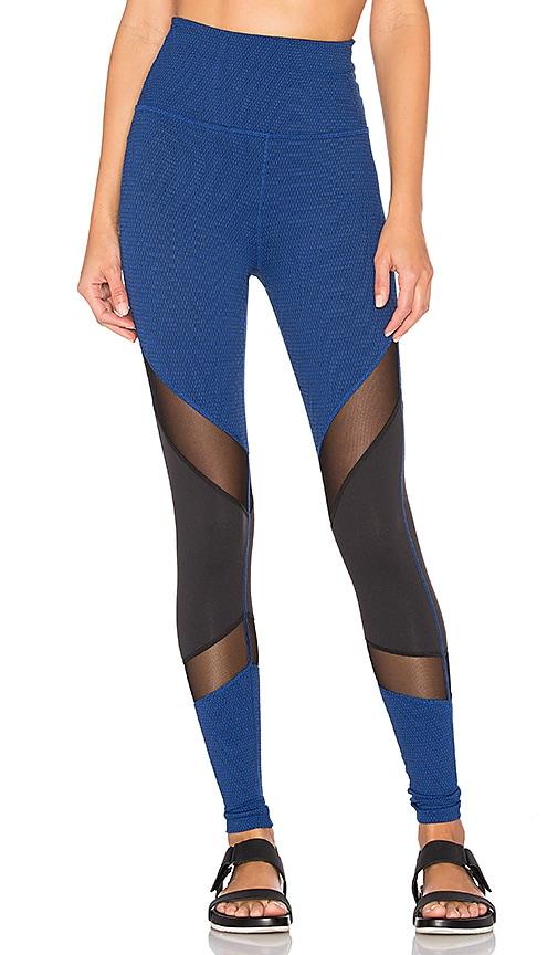 Beyond Yoga Deco Mirror High Waist Legging in Black