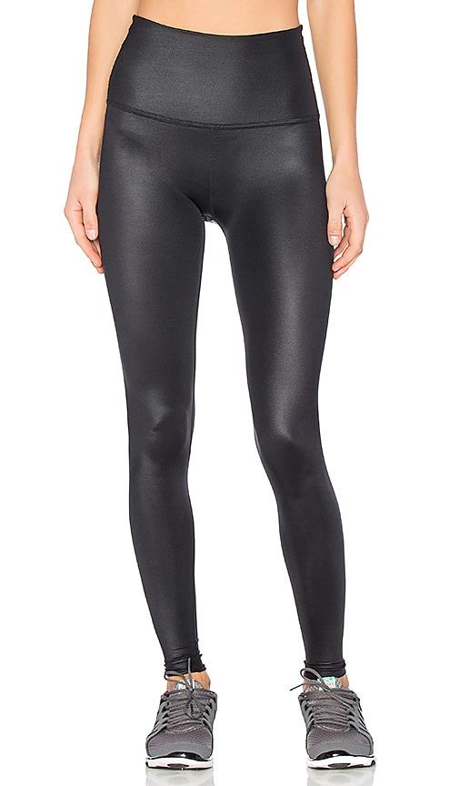Beyond Yoga Gloss Over High Waist Legging in Black