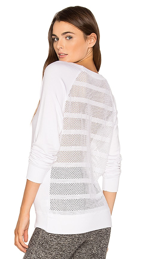 Beyond Yoga Seam You Later Sweatshirt in White