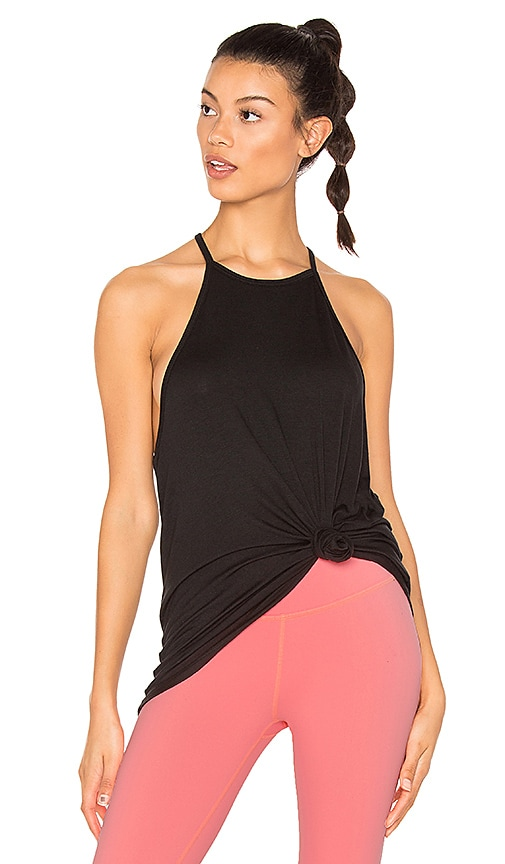 Beyond Yoga Lay Low Tank in Black