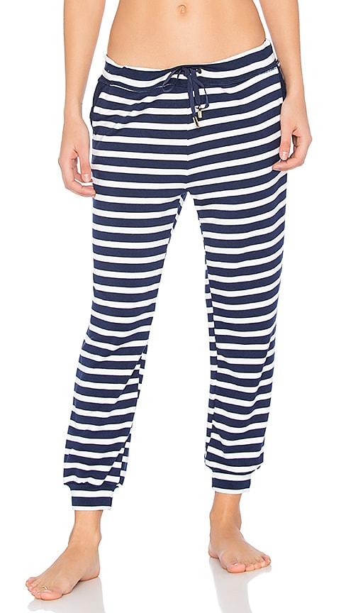 Beyond Yoga x kate spade Relaxed Sweatpant in Navy