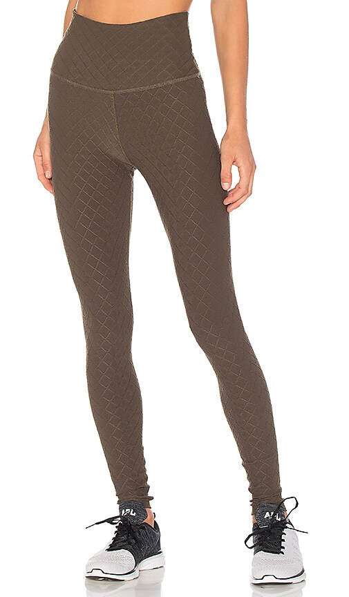 6308cdf60a Beyond Yoga Can'T Quilt You High Waisted Long Legging In Army | ModeSens