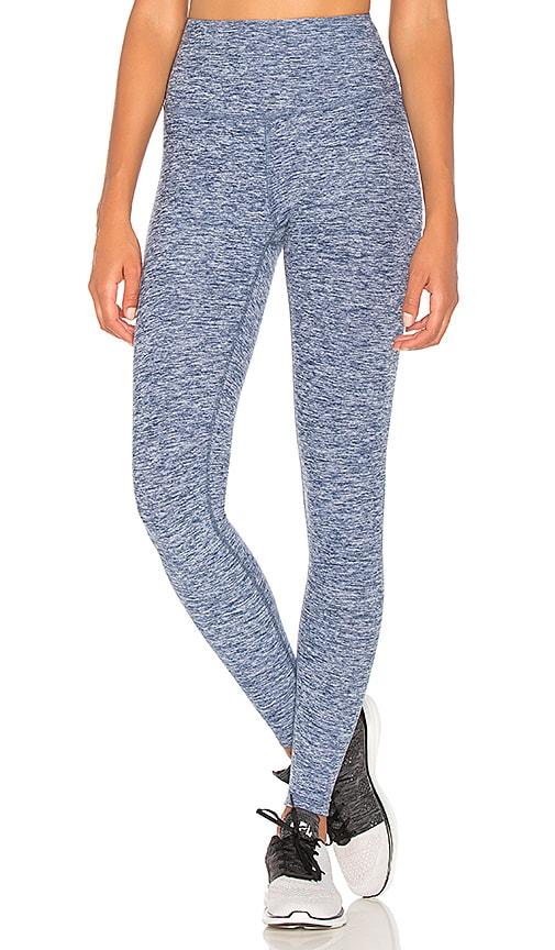 Beyond Yoga Spacedye Take Me Higher Legging in Blue
