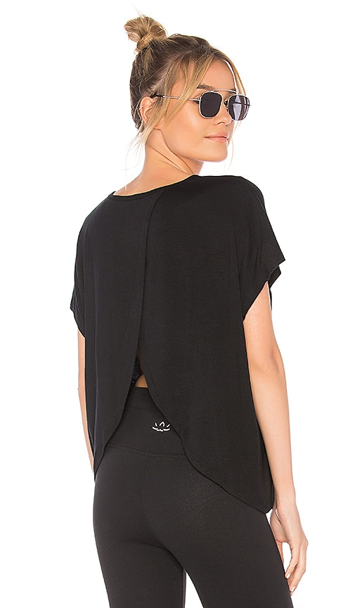 Beyond Yoga In Easy Does It Tee in Black