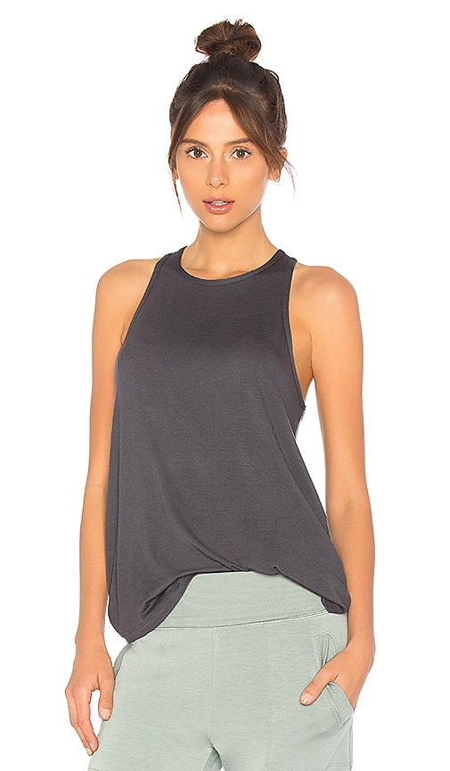 Beyond Yoga In Good Drape Tank in Gray