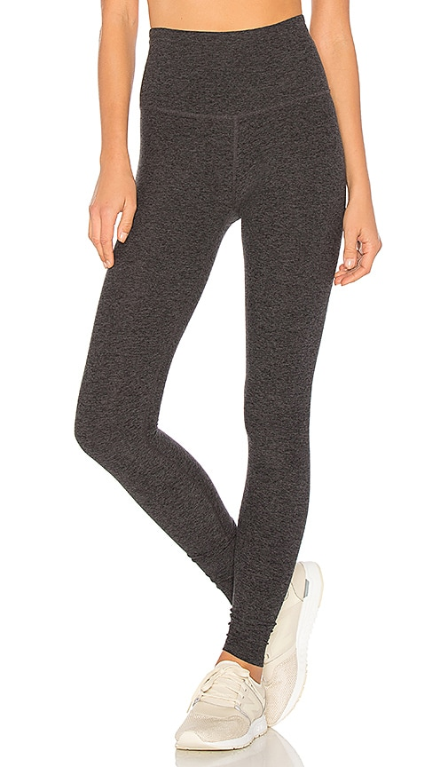 5ea88170c2da6 Beyond Yoga Take Me Higher Long Legging in Black & Charcoal | REVOLVE