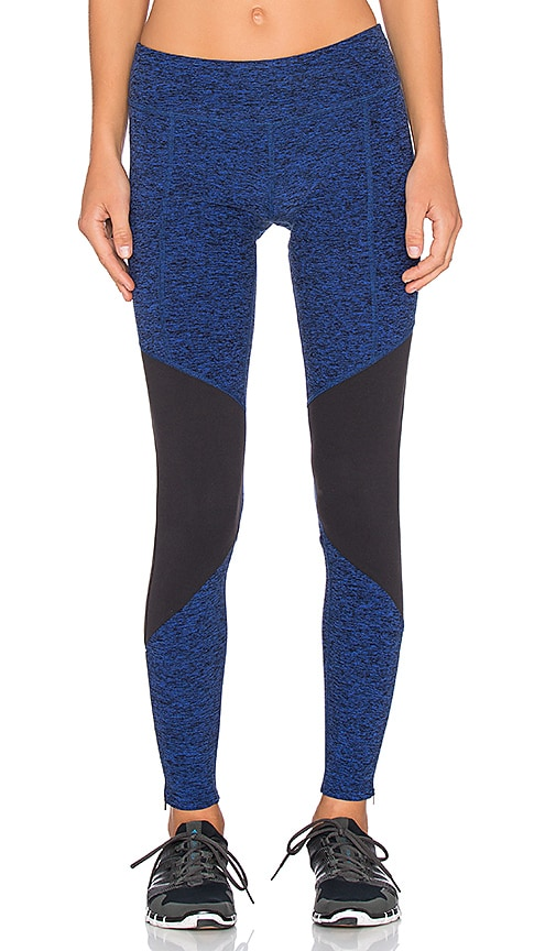 Spacedye Zip Long Legging