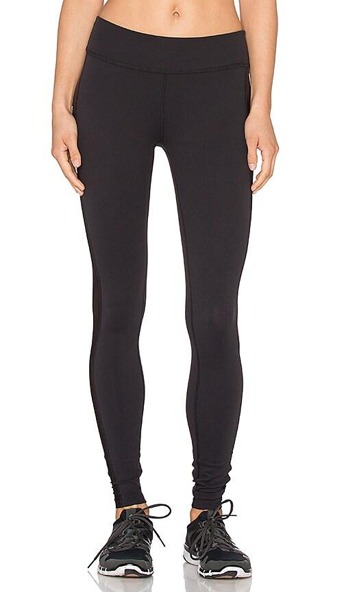 Beyond Yoga Slick Mesh Long Legging in Black