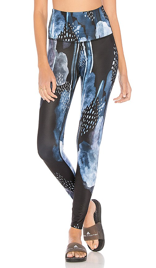 Beyond Yoga Lux High Waist Midi Legging in Blue