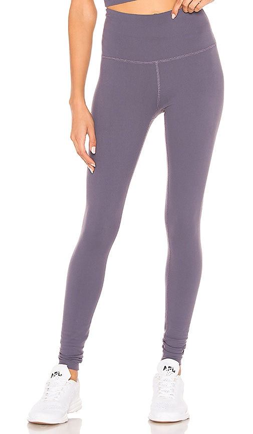 d120b1213e0963 Beyond Yoga Caught In The Midi High Waisted Legging in Deep Amethyst ...