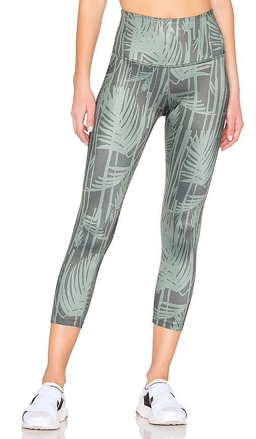 7ffc7e0df5cbc Beyond Yoga Lux Print Walk And Talk High Waisted Capri Legging in ...