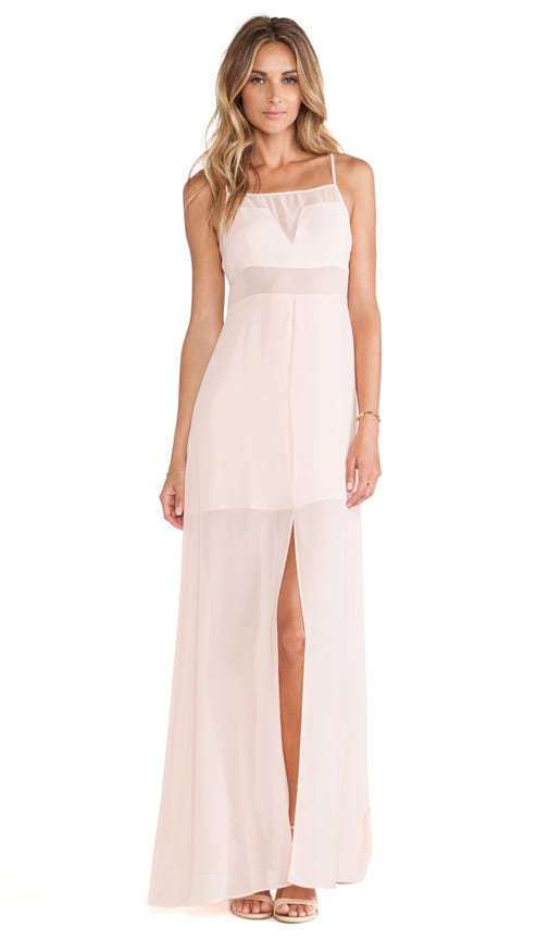 Chiffon Cut Out Maxi Dress