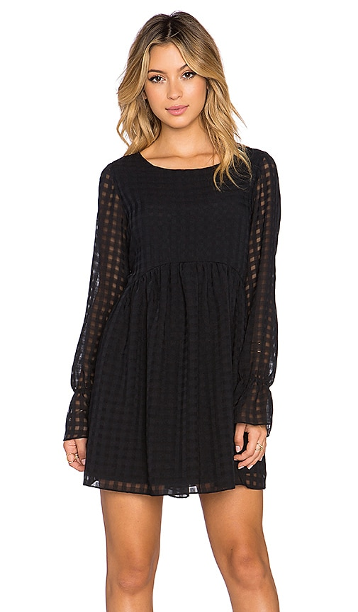 BCBGeneration Long Sleeve Dress in Black