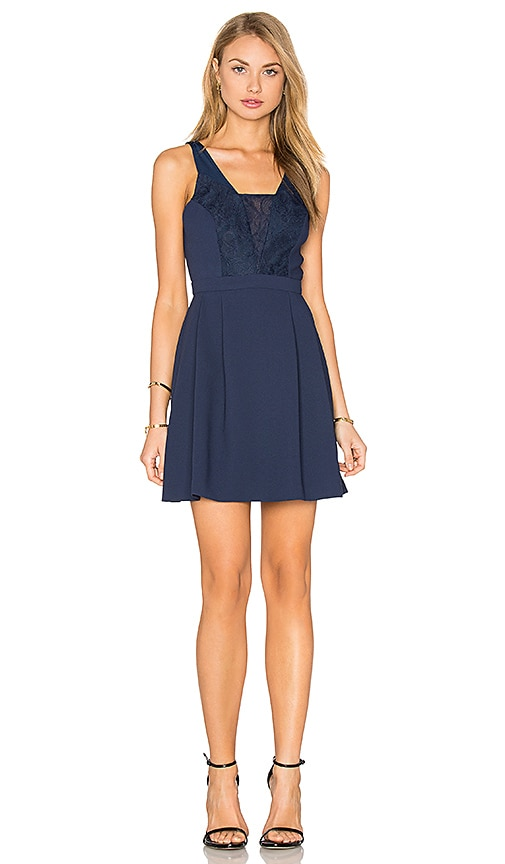 BCBGeneration Mini Dress in Navy