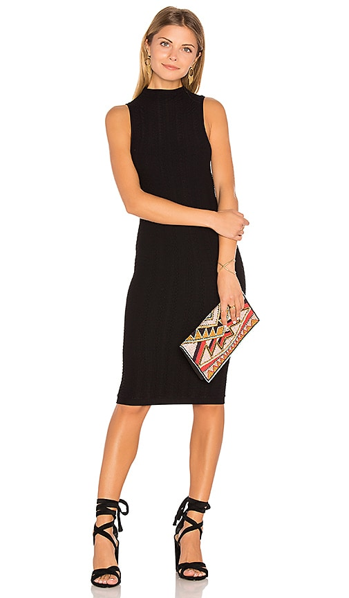 BCBGeneration Blocked Seamless Dress in Black