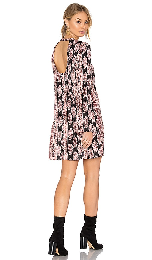 BCBGeneration Bell Sleeved Dress in Pink