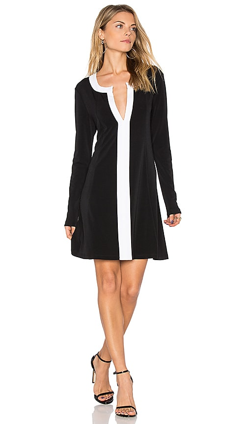 BCBGeneration City Dress in Black & White