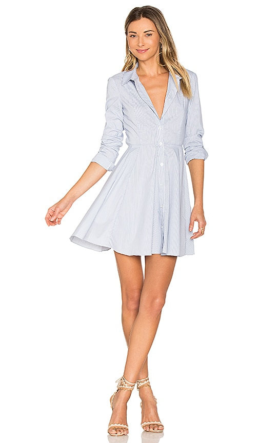 BCBGeneration City Shirt Dress in Blue