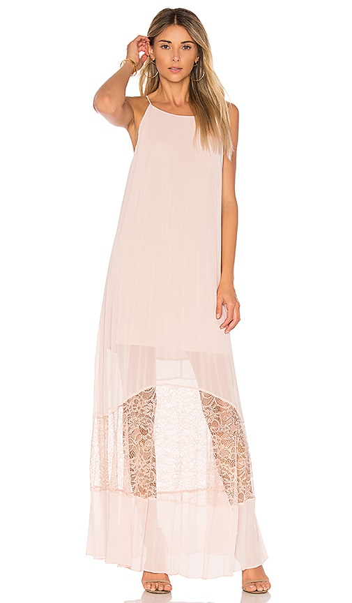 BCBGeneration Pleated Dress in Pink