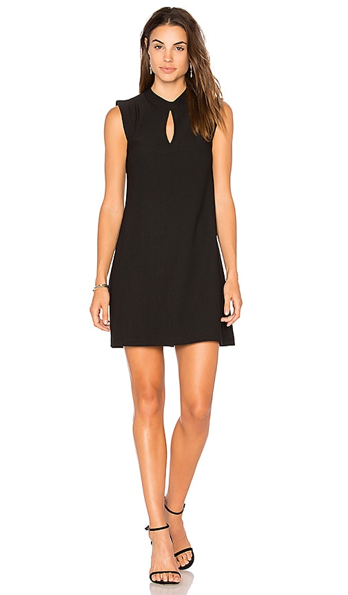 BCBGeneration Mock Neck Dress in Black