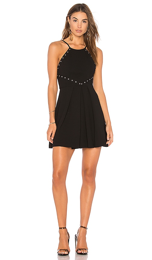 BCBGeneration Dress With Trims In Black