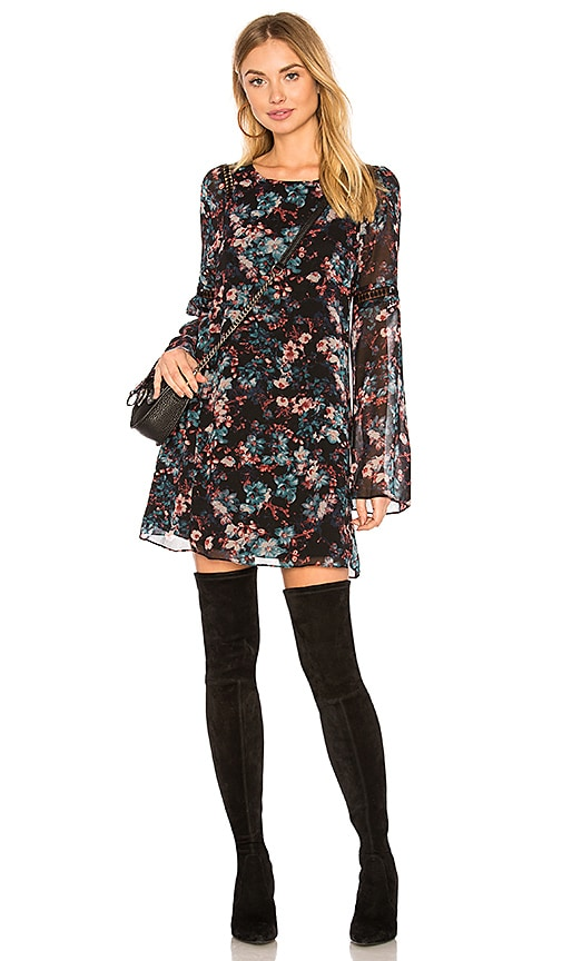 BCBGeneration A-line Dress In Black Combo