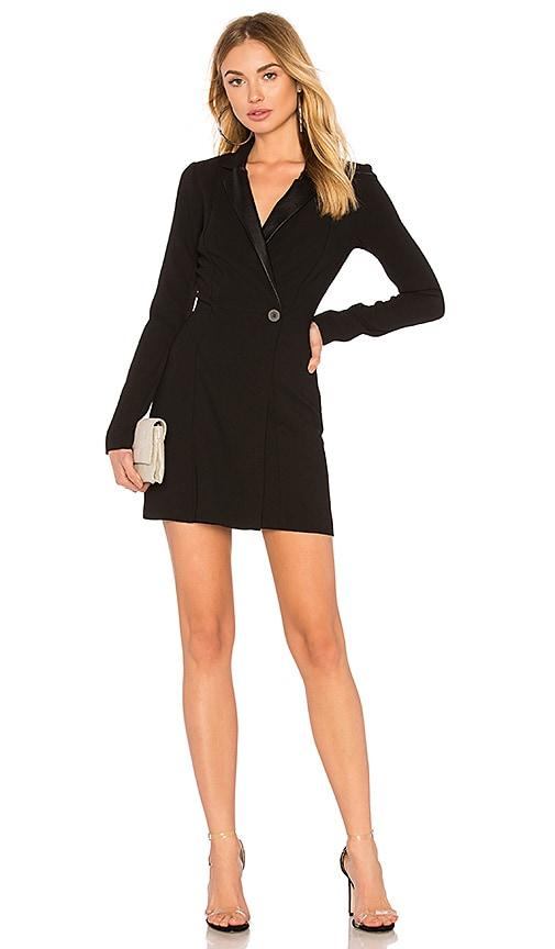 BCBGeneration Blazer Dress In Black