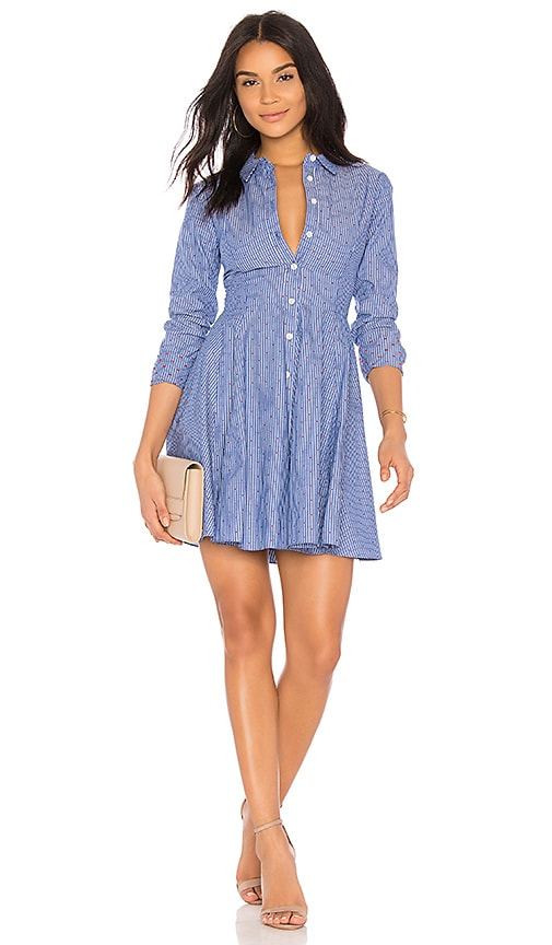 BCBGeneration Shirt Dress in Blue