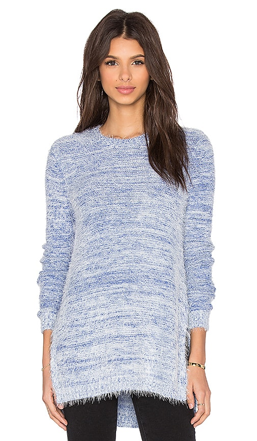 BCBGeneration Textured Sweater in Blue
