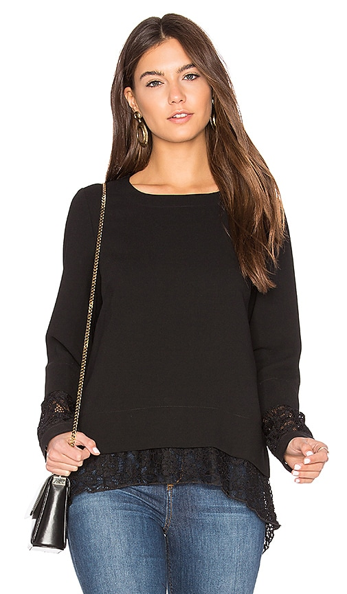 BCBGeneration Boxy Sweater in Black