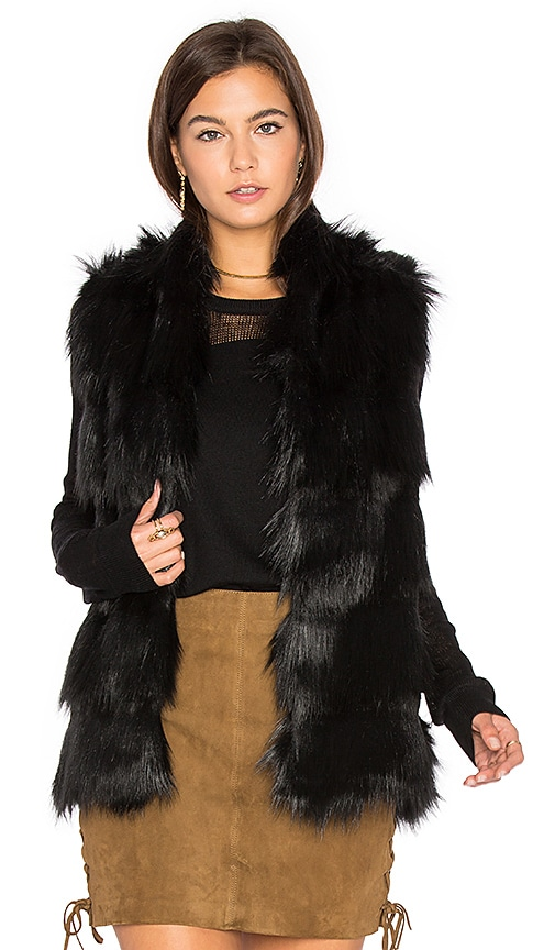 Faux Fur Shell Vest