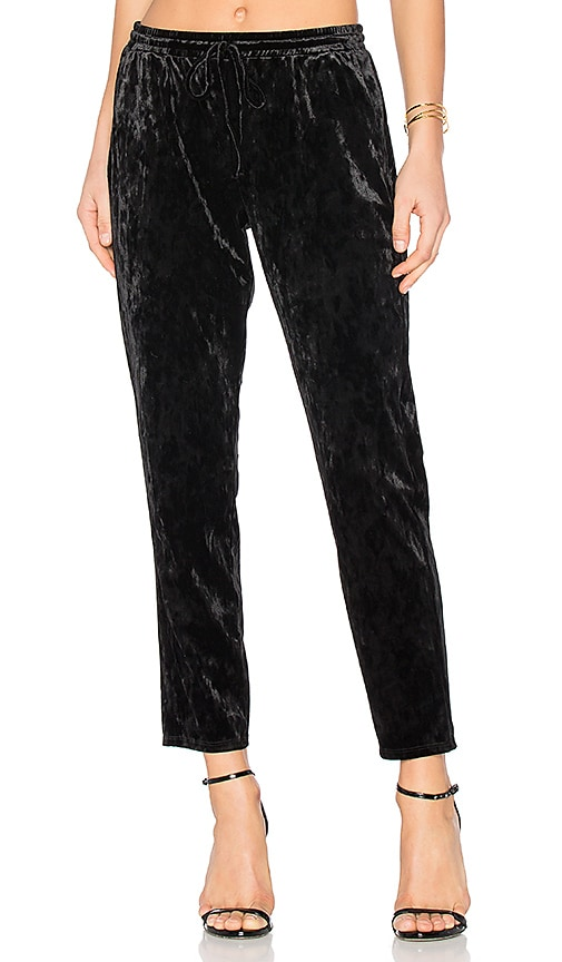 BCBGeneration Drawstring Pant in Black