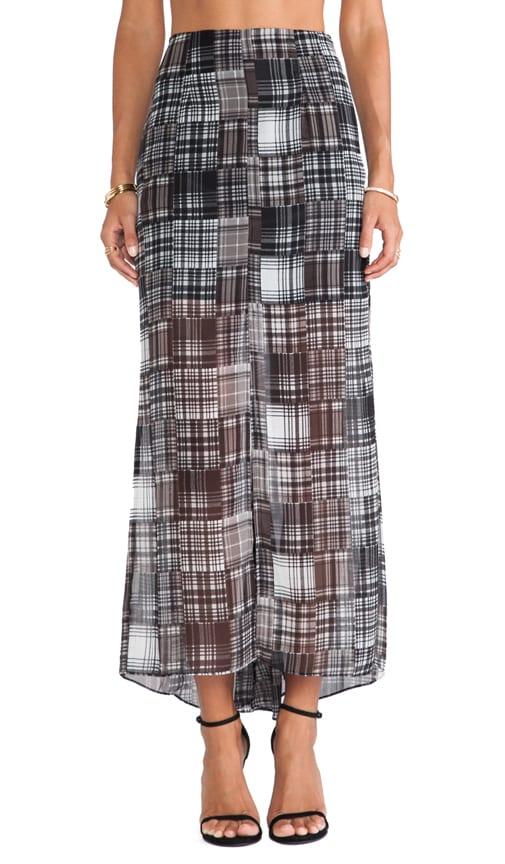Godet Maxi Skirt