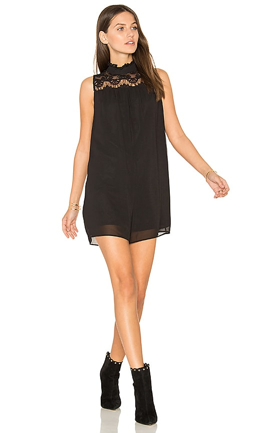 BCBGeneration A Line Romper in Black