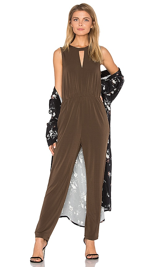 Triangle Front Jumpsuit