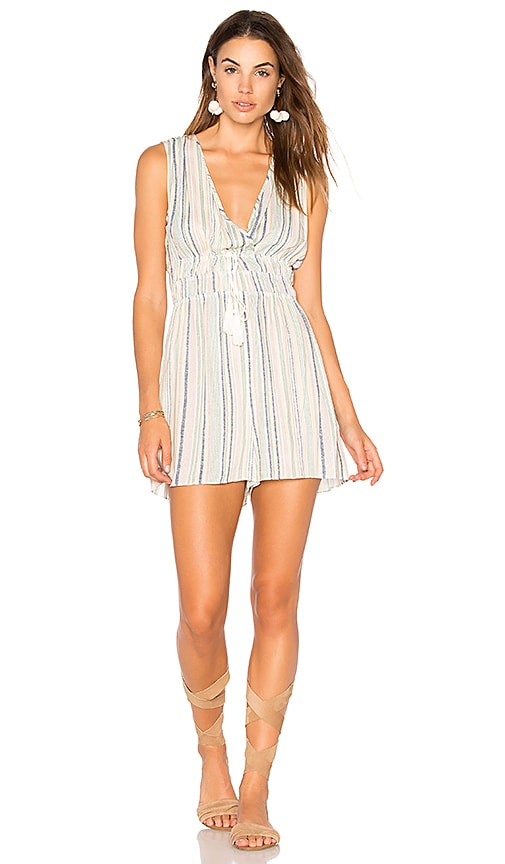 BCBGeneration Tassel Romper in Green