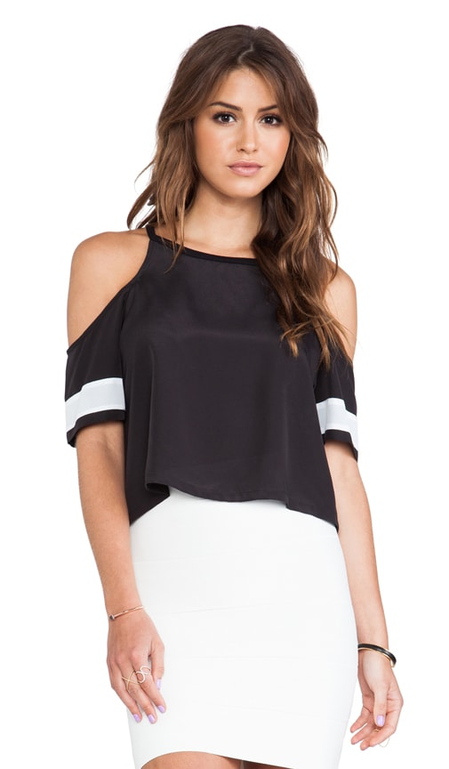 Open Shoulder Athletic Tee