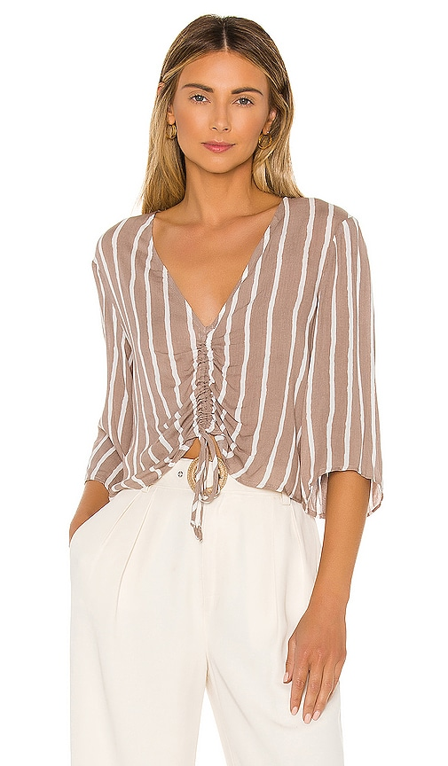 Ruched Front Blouse
