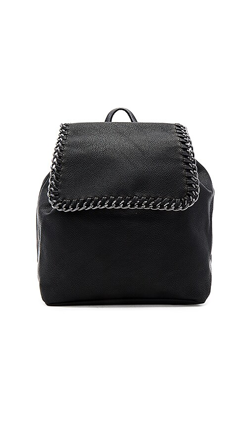 BCBGeneration Chain Edge Backpack in Black