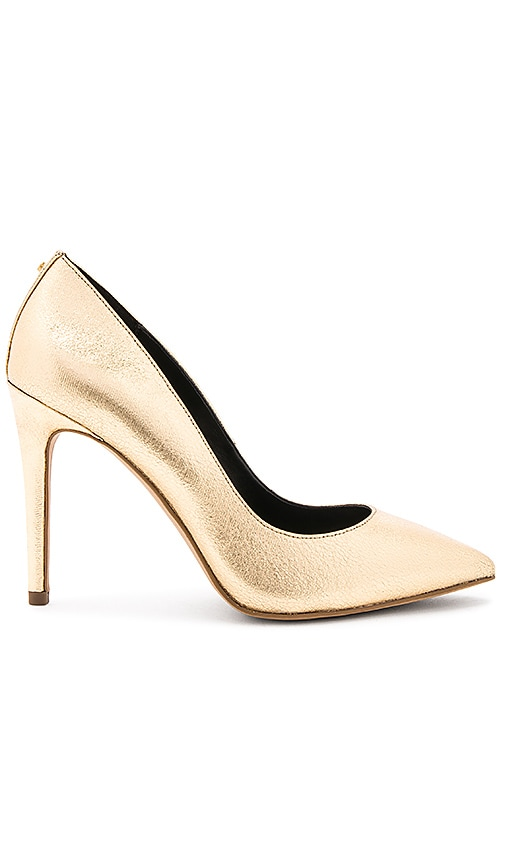 BCBGeneration Heidi Heel in Metallic Gold