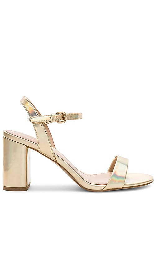 BCBGeneration Becca Heel in Metallic Gold