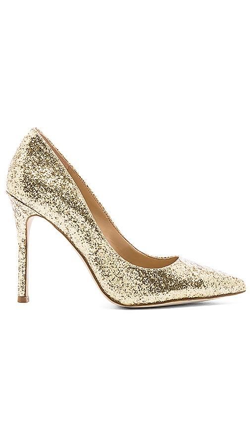 BCBGeneration Treasure Heel in Dark Gold Glass Glitter