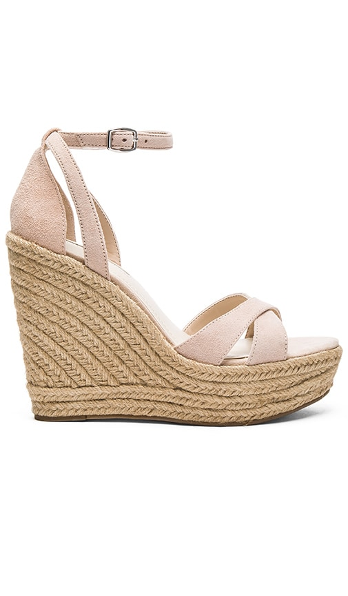 BCBGeneration Holly Wedge in Nude Blush